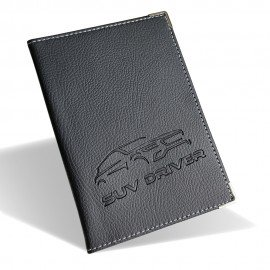 Etui carte grise simili cuir Collection SUV DRIVER