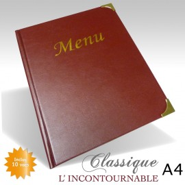 Protege Menu Restaurant Collection CLASSIQUE A4