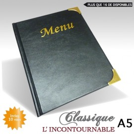Protege Menu Restaurant Collection CLASSIQUE A5