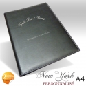 Protege Menu Restaurant Collection NEW YORK A4 PERSONNALISE